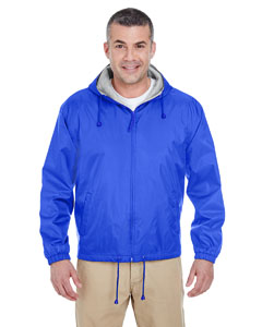 Royal Adult Fleece-Lined Hooded Jacket