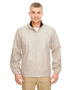 Sand Adult Micro-Poly 1/4-Zip Windshirt