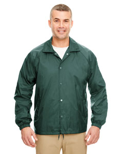 Forest Green Adult Nylon Coaches' Jacket