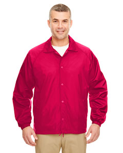 Red Adult Nylon Coaches' Jacket