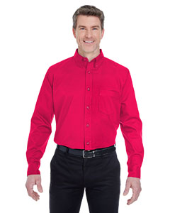 Red Men's Whisper Twill