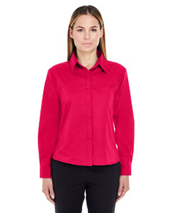 Red Ladies' Whisper Twill