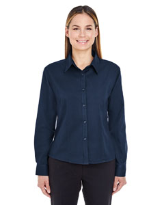 Navy Ladies' Whisper Twill