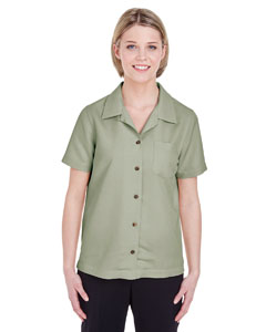 Sage Ladies' Cabana Breeze Camp Shirt