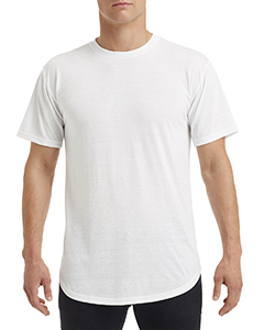 White Adult Curve T-Shirt