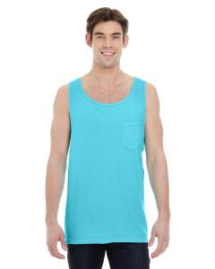 Lagoon Blue Adult Heavyweight RS Pocket Tank