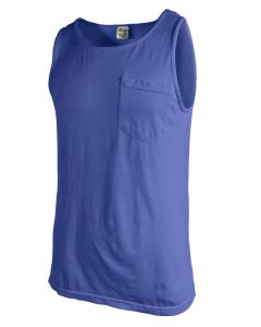 Neon Blue Adult Heavyweight RS Pocket Tank