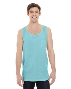 Chalky Mint Adult Heavyweight RS Pocket Tank