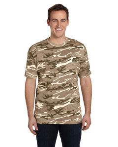 Camouflage Sand Ringspun Heavyweight Camouflage T-Shirt