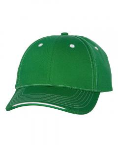 Kelly Tri-Color Cap