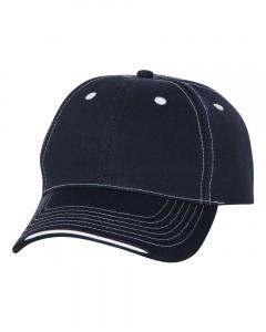 Navy Tri-Color Cap
