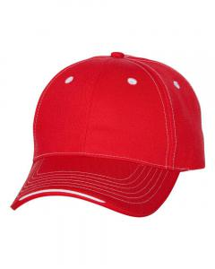 Red Tri-Color Cap