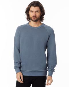 Washed Denim Unisex 6.5 oz. Champ Washed French Terry Crewneck Sweatshirt