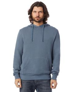 Washed Denim Unisex 6.5 oz., Challenger Washed French Terry Hooded Pullover Sweatshirt