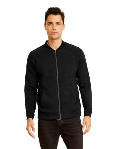 Heather Black Unisex PCH Bomber Jacket