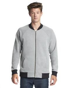Heather Gray Unisex PCH Bomber Jacket