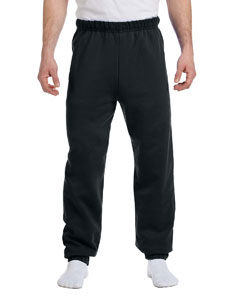 Black 8 oz., 50/50 NuBlend® Fleece Sweatpants