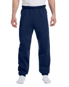 J Navy Adult 8 oz. NuBlend® Fleece Sweatpants