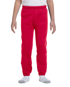 True Red Youth 8 oz. NuBlend® Fleece Sweatpants
