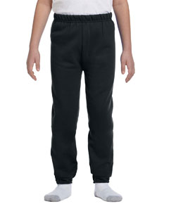 Black Youth 8 oz. NuBlend® Fleece Sweatpants