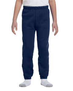 J Navy Youth 8 oz. NuBlend® Fleece Sweatpants