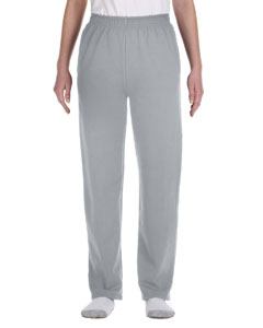 Oxford Youth 8 oz., 50/50 NuBlend® Open-Bottom Sweatpants