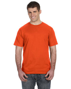 Orange Ringspun T-Shirt