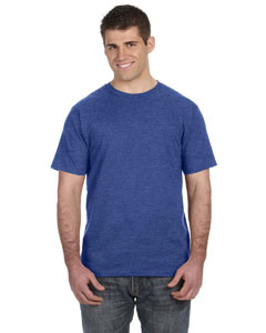 Heather Blue Ringspun T-Shirt