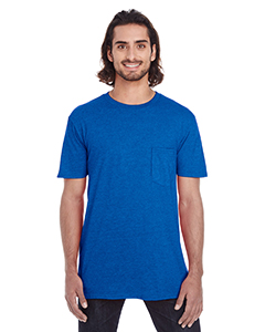 Royal Blue Adult Lightweight Pocket Tee