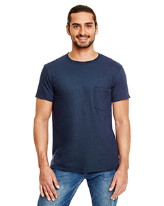 Navy Adult Lightweight Pocket Tee
