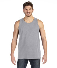 Heather Grey Ringspun Tank