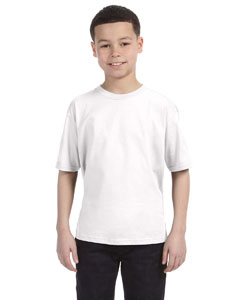 White Youth Ringspun T-Shirt