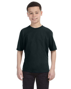Black Youth Ringspun T-Shirt