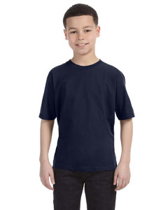 Navy Youth Ringspun T-Shirt