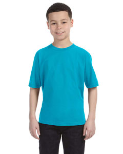 Caribbean Blue Youth Ringspun T-Shirt