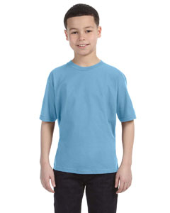 Light Blue Youth Ringspun T-Shirt