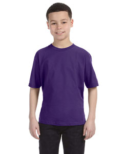 Purple Youth Ringspun T-Shirt