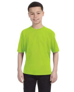 Neon Green Youth Ringspun T-Shirt