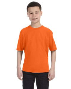 Neon Orange Youth Ringspun T-Shirt