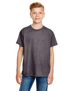Heather Graphite Youth Ringspun T-Shirt