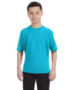 Pool Blue Youth Lightweight T-Shirt