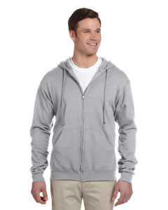 Oxford Adult 8 oz. NuBlend® Fleece Full-Zip Hood
