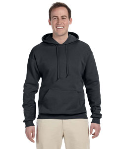 Charcoal Grey 8 oz., 50/50 NuBlend® Fleece Pullover Hood