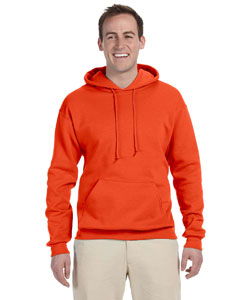 Burnt Orange Adult 8 oz. NuBlend® Fleece Pullover Hood