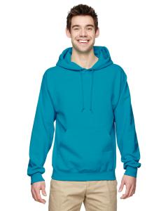California Blue 8 oz., 50/50 NuBlend® Fleece Pullover Hood