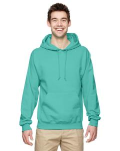 Cool Mint 8 oz., 50/50 NuBlend® Fleece Pullover Hood