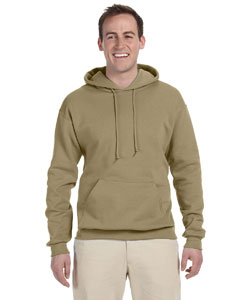 Khaki Adult 8 oz. NuBlend® Fleece Pullover Hood