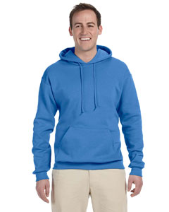Columbia Blue 8 oz., 50/50 NuBlend® Fleece Pullover Hood