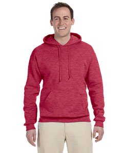 Vintage Hth Red Adult 8 oz. NuBlend® Fleece Pullover Hood