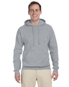 Athletic Heather 8 oz., 50/50 NuBlend® Fleece Pullover Hood